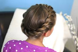 Twisted Hair Style crown rope twist braid updo hairstyles cute girls hairstyles 3303 by wearticles.com