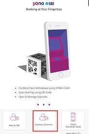 register sbi yono using atm debit card