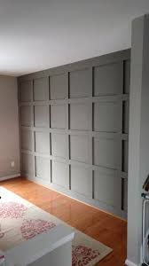 office wainscoting ideas. diy paneled wall for under 200 office wainscoting ideas h