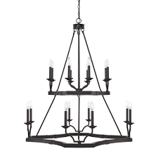 bellacor number 1946266 capital lighting fixture company ravenwood black iron 16 light chandelier