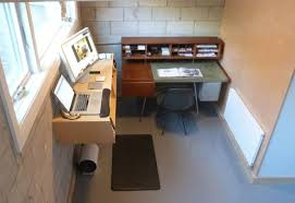 standing office table. Stunning Ideas Standing Office Desk Modest Decoration A Walk Around My New Active With Table