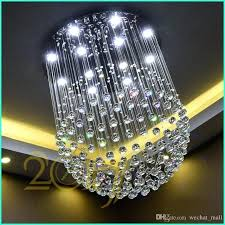 new modern led ball crystal chandeliers glass chandelier light lights clear ceiling kitchen fashionable chan