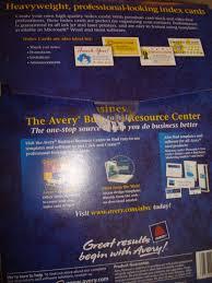 Avery Index Card 5388 Koziy Thelinebreaker Co