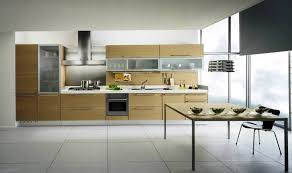 Cabinet Contemporary Two Tone Kitchen livingurbanscapeorg