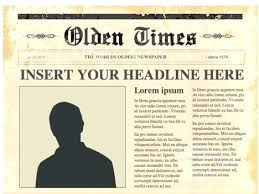 Newspaper Front Template Free Newspaper Designer Print And Digital For Front Page