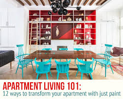 40 Easy And Affordable Ways To Transform Your Apartment With Just Interesting Apartment Interior Design Painting