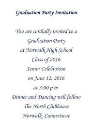 Senior Party Invitations Graduation Party Invitations Wording Free Geographics Word