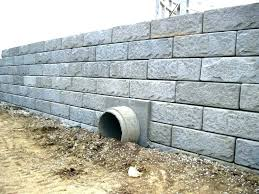concrete block retaining wall cinder block retaining wall block wall design concrete block retaining wall design
