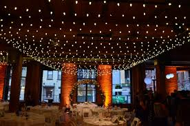 the lighting loft. A Canopy Of String Lights Suspended With. C7 Bulbs Over Center Are The Main Floor. Lighting Loft