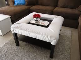 Furniture: Upholstered Ottoman Coffee Table Elegant Amazing Upholstered  Ottoman Coffee Table Tar Square Ottoman Upholstered