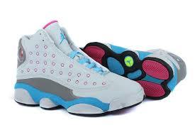 jordan shoes for girls 2014 pink. girls air jordan 13 retro white pink university blue for sale-3 shoes 2014