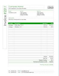 Publisher Invoice Template Printable Word Excel Invoice