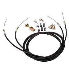 lokar ec 80fu floor dash mount emergency brake cables Emergency Ke Wiring wilwood 330 9371 emergency brake cable kit for lokar floor mount units