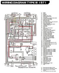 electrical equipment 1967 vw bug wiring diagram at Vw Type 3 Wiring Diagram