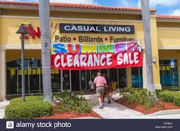 Naples Florida Zing Casual Living shopping furniture store front