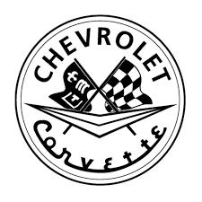 Sticker Corvette logo