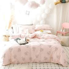 pink twin duvet cover cotton cute rabbit duvet cover set twin queen size sweet pink bedding pink twin duvet cover