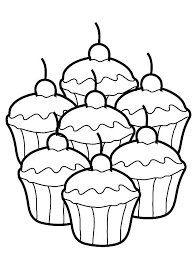 Cookie Coloring Page Cookie Coloring Pages Page Baking Cookies By