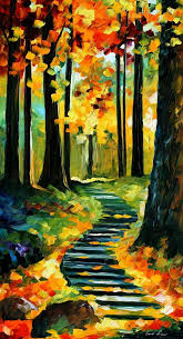 Canvas Painting Original Oil On Canvas Painting By Leonidafremov On Deviantart