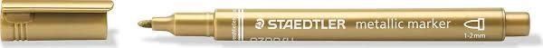 Staedtler Маркер <b>Металлик</b> цвет чернил <b>золотой</b> — купить в ...