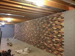 Endearing Ideas For Finishing Concrete Basement Walls With Ideas - Finish basement walls