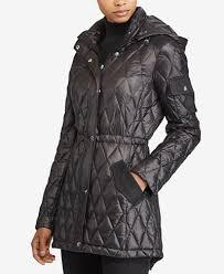Lauren Ralph Lauren Diamond-Quilted Packable Down Jacket - Coats ... & Lauren Ralph Lauren Diamond-Quilted Packable Down Jacket Adamdwight.com
