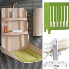 nursery furniture for small spaces. Space Saving Changing Table For Nursery Furniture Small Spaces