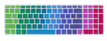 Leze Ultra Thin Laptop Keyboard Cover Skin Protector For Hp