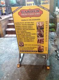 garden fresh food king photos vasai west palghar fast food