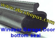 garage door bottom weather sealWindsor PBulb Garage Door Bottom Weather Seal 16
