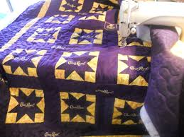 Katie's Quilts and Crafts: Crown Royal Quilt Finished! &  Adamdwight.com