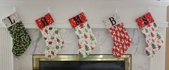 Christmas Stockings Tutorial | Sew Like My Mom