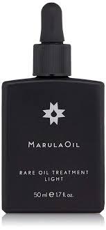 Marula Light Hair Treatment Styling Oil Marulaoil Rare Oil Treatment Light