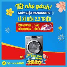 Tết nhẹ gánh với máy giặt Panasonic ? Lì... - Điện máy XANH  (dienmayxanh.com)