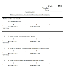 Another Word For Questionnaire Survey Questions Template 10 Free Word Excel Pdf
