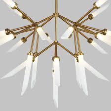 tech lighting spur led chandelier