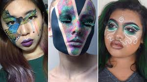 these insram muas cover their entire faces in makeup just like face painting