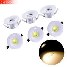 Mini Spot Lights Led Us 19 75 15 Off 6pcs 3w High Power Cob Led Spotlight Mini Spot Light Led Light Polished Ceiling Lamp Cabinet Closet Lamps Warm White New Hl In Led