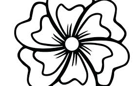 big coloring pages flower coloring pages printable free coloring kids flower coloring big flower coloring pages