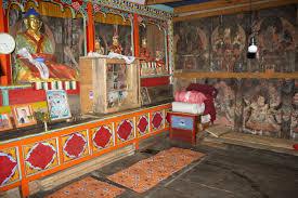 cosy buddhist bedroom