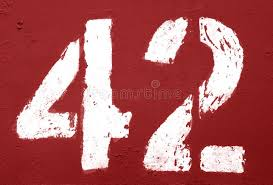 430 Number 42 Photos - Free & Royalty-Free Stock Photos from Dreamstime