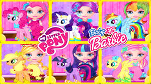 you premium you premium mlp baby barbie makeover
