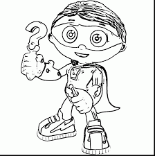 Small Picture Awesome Super Why Coloring Pages Gallery In itgodme
