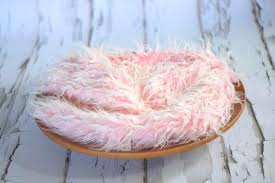 fur rug frosted light pink faux fur rug photography prop newborn baby toddler beautiful photo props