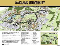 oakland university cell phone tour map  oncell  flickr