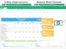 Simple Balance Sheet Excel Balance Template Free Bank Statement Templates Balance Excel
