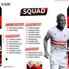 "Zamalek SC on Twitter: ""كارتيرون يعلن قائمة مباراة الإسماعيلي 🏹💪 #Zamalek  #MostTitledIn20C"
