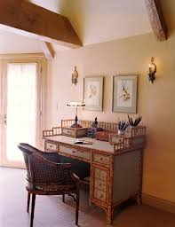 Desk in Master Bedroom traditional-home-office