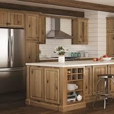 Shop Hampton Bay Hampton Hickory Cabinets