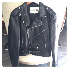 jackets blazers sea dream leather vintage moto jacket